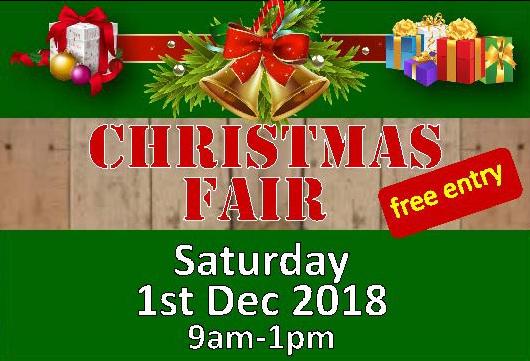 2018 Christmas Fair Flyer small